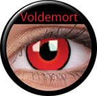 ColourVue Crazy šošovky – Voldemort (2ks trojmesačné) - dioptrické
